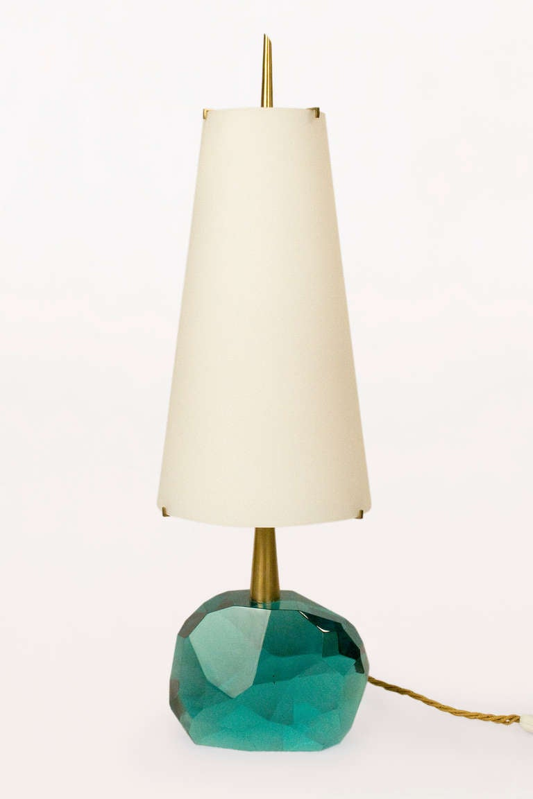 Pair of Table Lamps By Roberto Giulio Rida, Italy, circa 2000 2