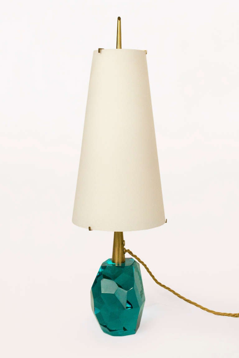 Italian Pair of Table Lamps By Roberto Giulio Rida, Italy, circa 2000 For Sale