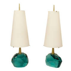 Pair of Table Lamps By Roberto Giulio Rida, Italy, circa 2000