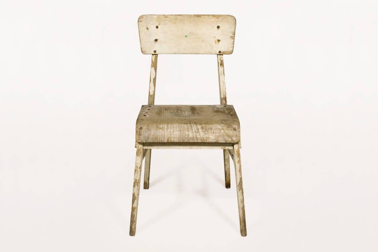 Jean prouve chaise en bois wooden standard chair circa - Chaise jean prouve prix ...