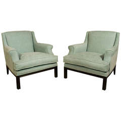 Pair of Pierre Lottier Armchairs, circa 1950, Spain