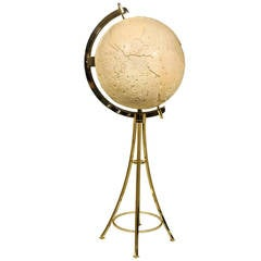 Vidal Grau Bar in the Form of a Globe, circa 1970 Spain