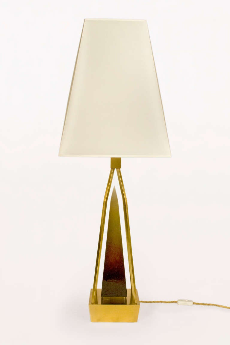 Italian Pair Of Table Lamps By Roberto Giulio Rida For Sale