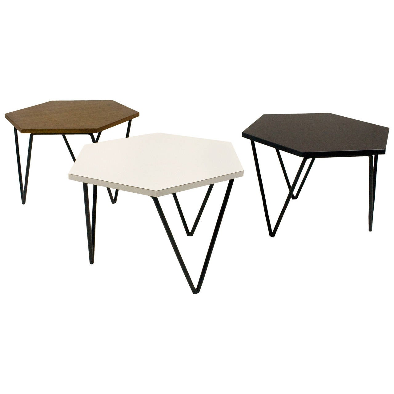 Series Of Three Gio Ponti Modular Coffee Tables Circa 1950 Italy At 1stdibs