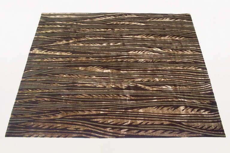 Frank lloyd wright waterfall stripe rug circa 1990 usa at 1stdibs - Frank lloyd wright rugs ...