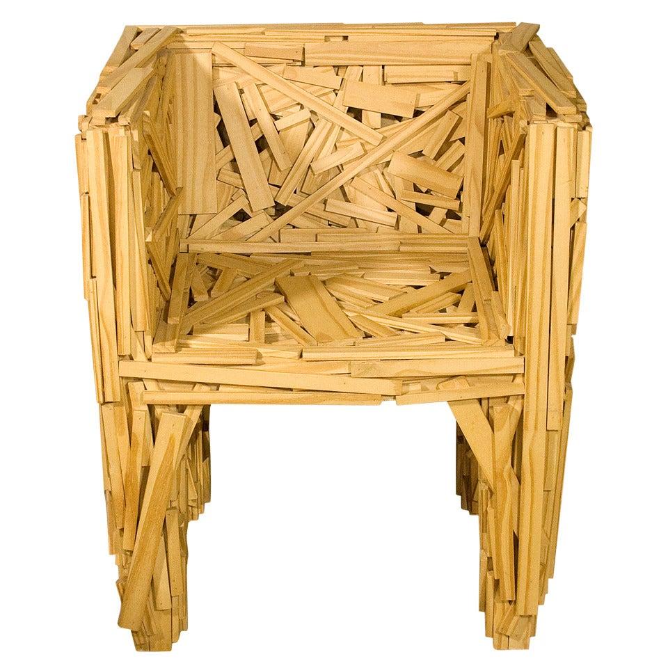 Early Favela Chair by Fernando and Humberto Campana for Edra, Italy, 2003