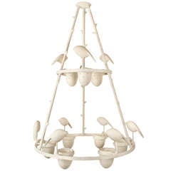 Chandelier By Jacques Darbaud circa 1990