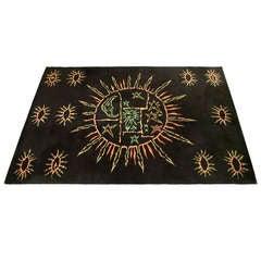 Carpet by Jean Lurçat circa 1960