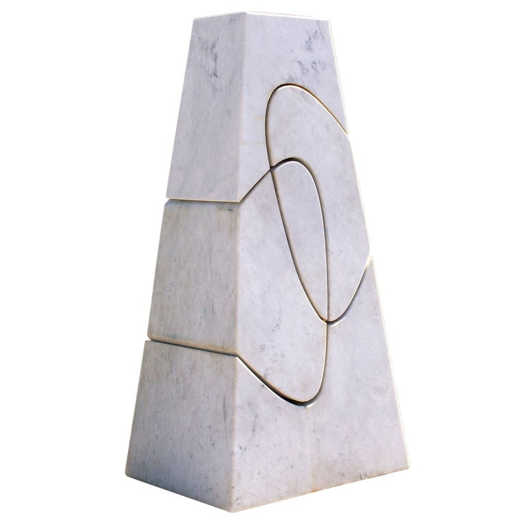 """Exceptional Sculpture """"Monumental Cambiamiento"""" by Angelo Mangiarotti, 2006 For Sale"""