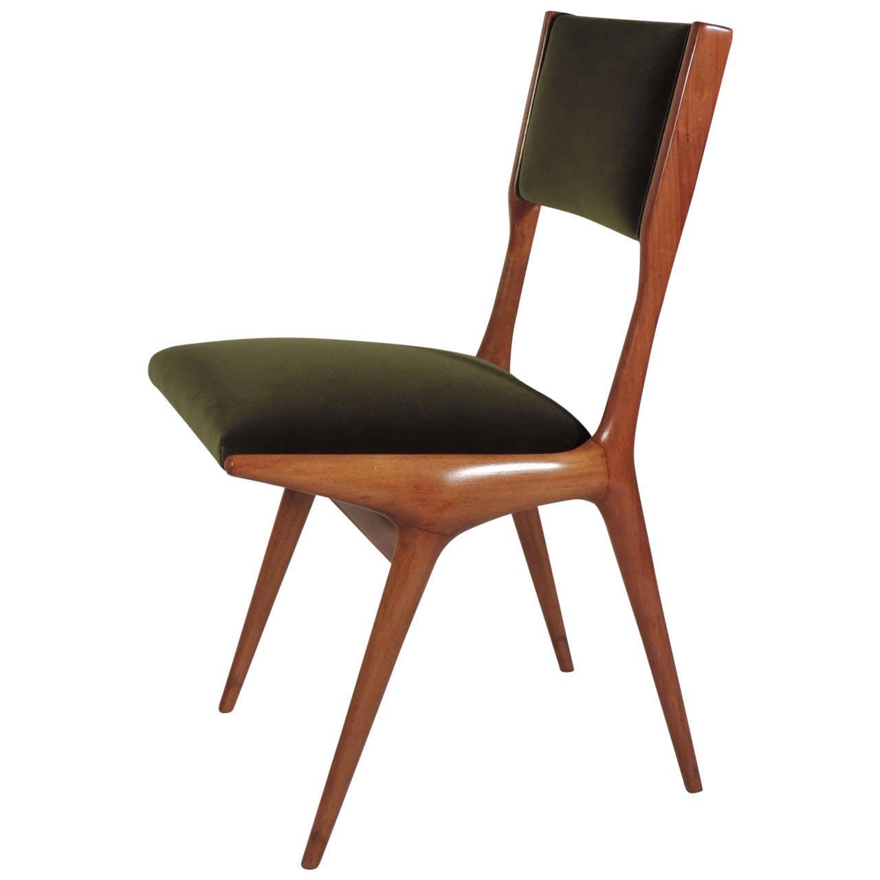 Splendid Carlo De Carli Chair For Cassina For Sale At 1stdibs