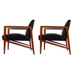 Arch. Mario Dal Fabbro armchairs