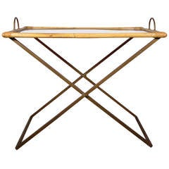 Magnificient Italian Folding Tray Table