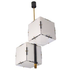 Cubist Stilnovo Ceiling Lamp