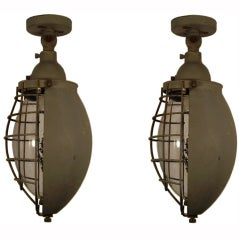 Giuseppe Ostuni Industrial Lamps For O'luce