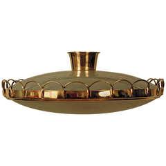 A splendid Italian 1940's ceiling lamp