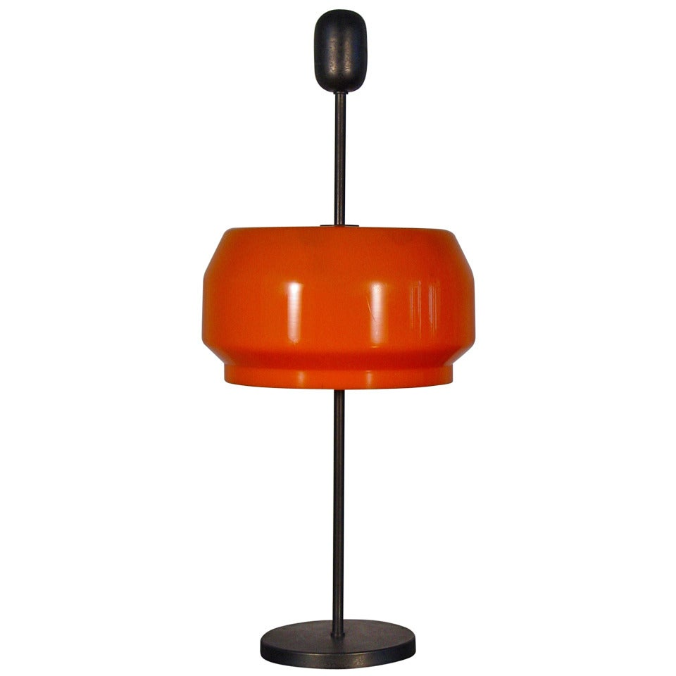 A rare GP & A Monti table lamp for Kartell