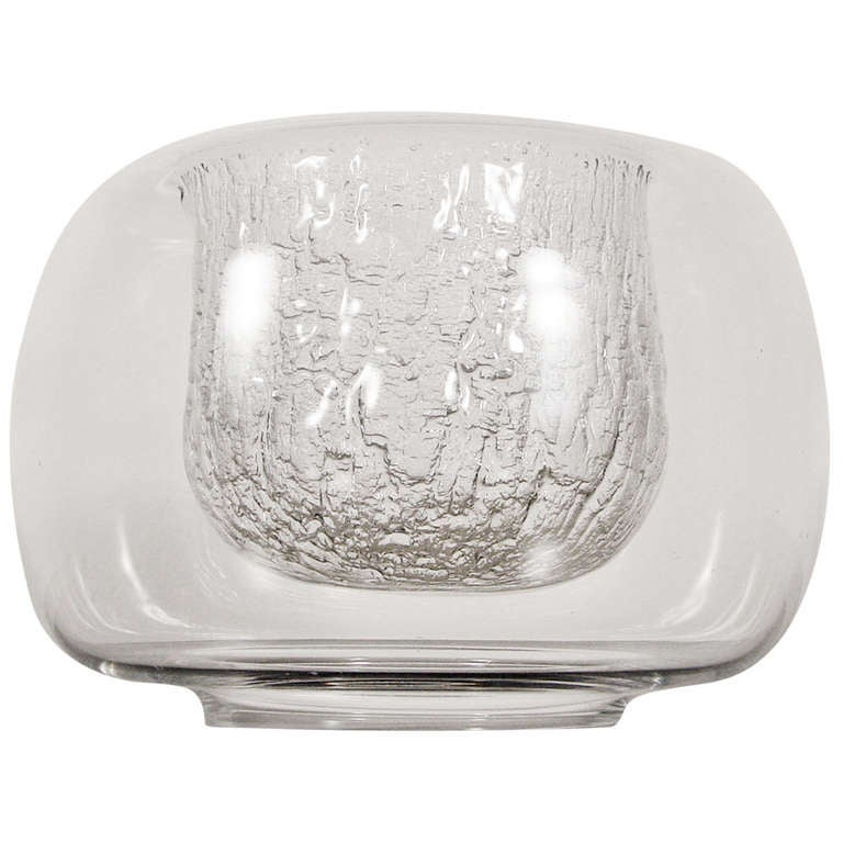 A magical glass bowl by Timo Sarpaneva