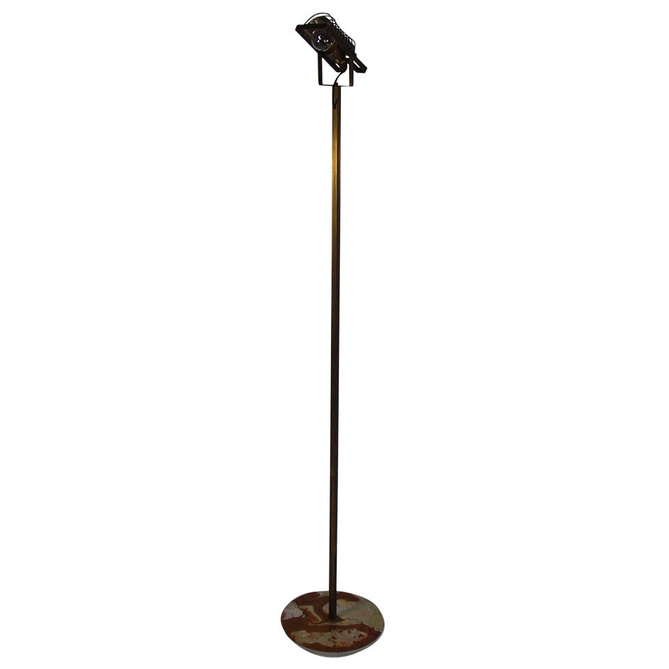 "A Rare and Early ""Sintesi"" Floor Lamp Prototype by Ernesto Gismondi"