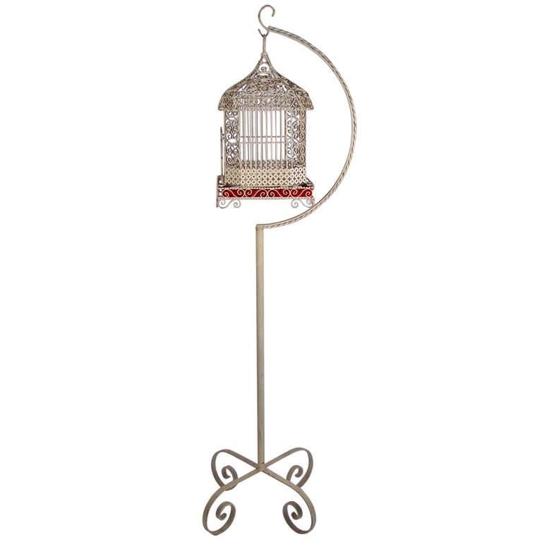 """A """"Felliniesque"""" Italian Bird Cage"""