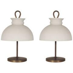 """Ignazio Gardella """"Arenzano"""" Table Lamps for Azucena"""