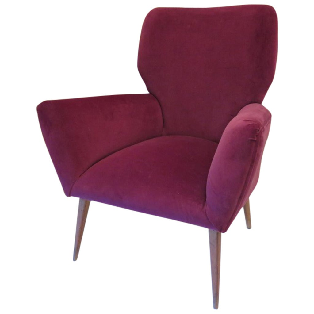 single armchair 50s for sale at 1stdibs On single armchairs
