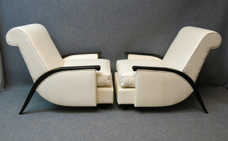 Pair Of Lounge Chairs From Design Very Special At 1stdibs