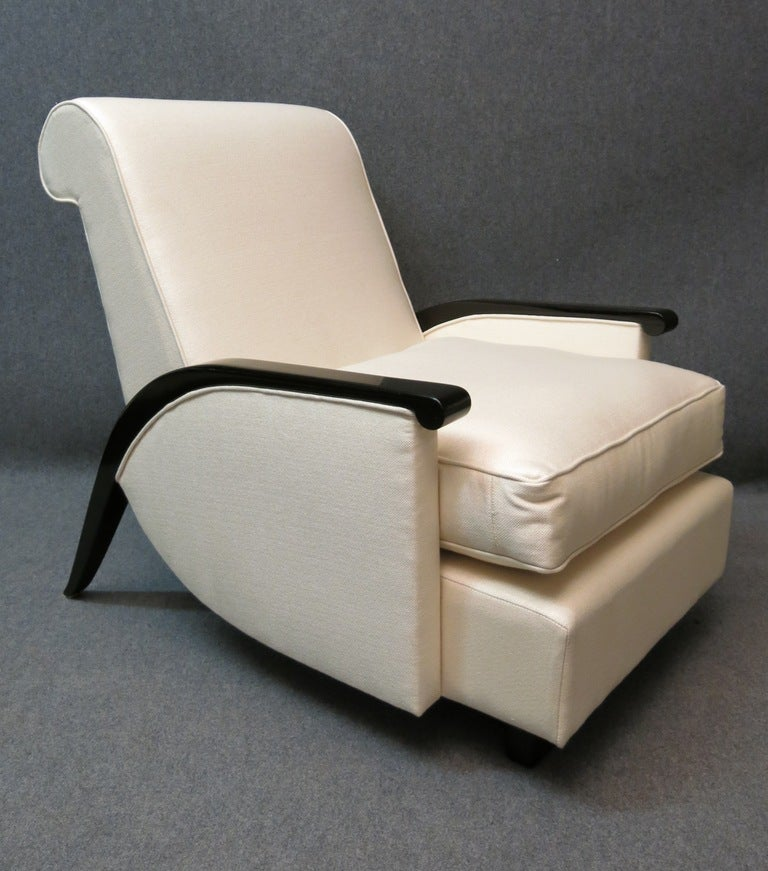 Pair of lounge chairs from design very special at 1stdibs for Special chair design