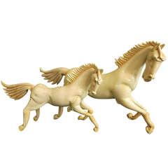 Two Wonderful Horses Pino Signoretto