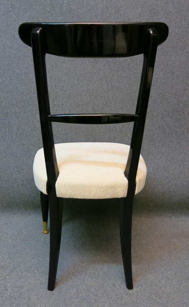 six beautiful chairs pure art deco at 1stdibs. Black Bedroom Furniture Sets. Home Design Ideas