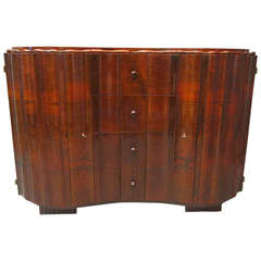Art Deco Walnut Wood Austrian Sideboards, 1920