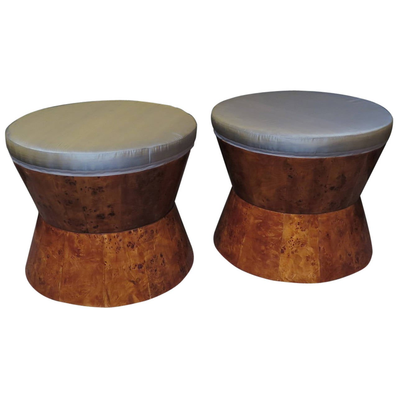 Pair Of Art Deco Stools At 1stdibs