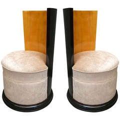 Pair of Small Armchairs Art Decò by Room