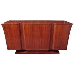 1930s Cherry Italian Art Deco Sideboard