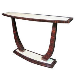 1930 italian Art Deco Console Table