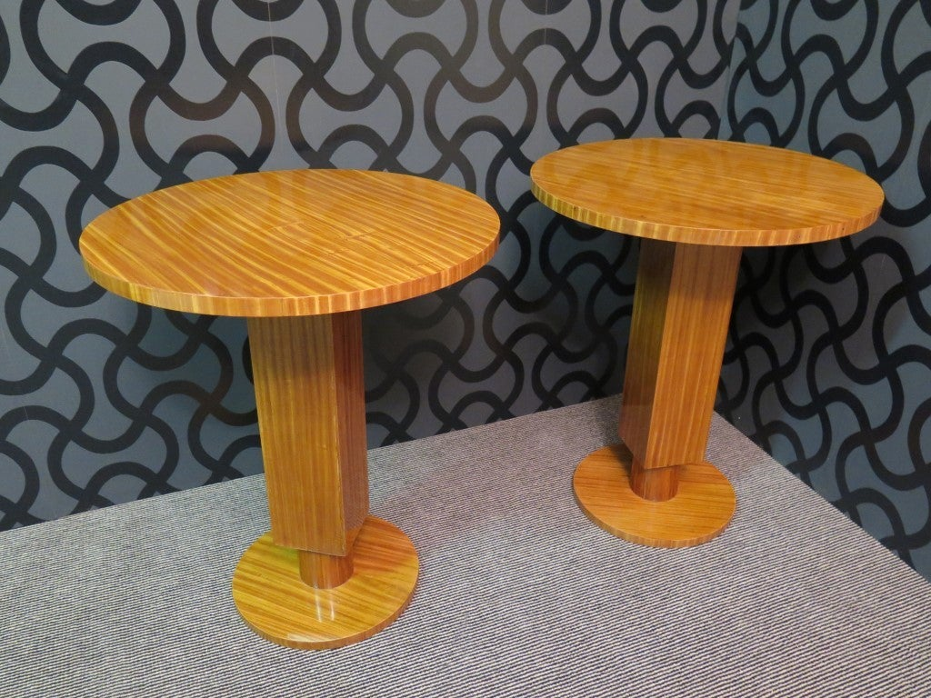Pair of Art Deco Side Tables 2