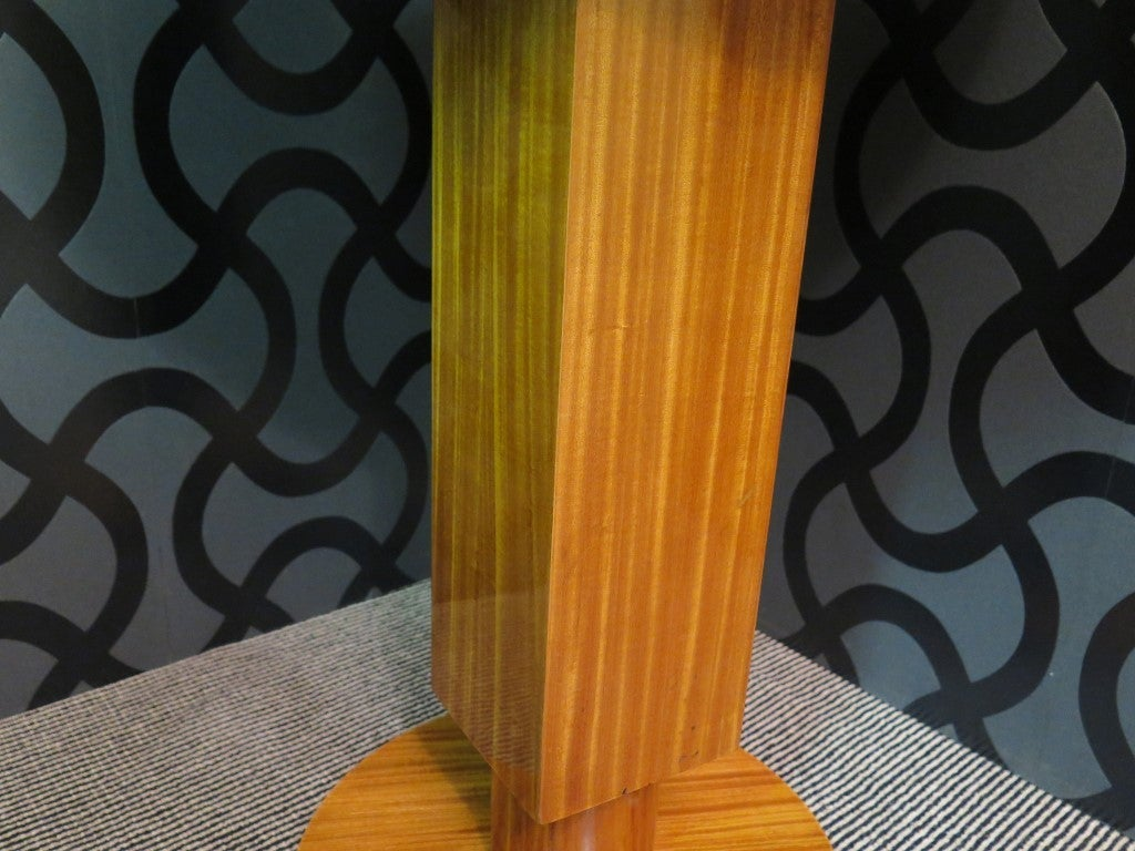Pair of 1930 Cedar Wood Art Deco Side Tables 7
