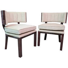 Pair of Franch small Armchairs