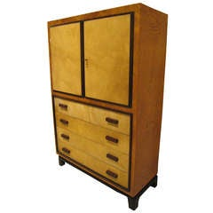 Art Deco Italian Chest of Drawer Cabinet 1930