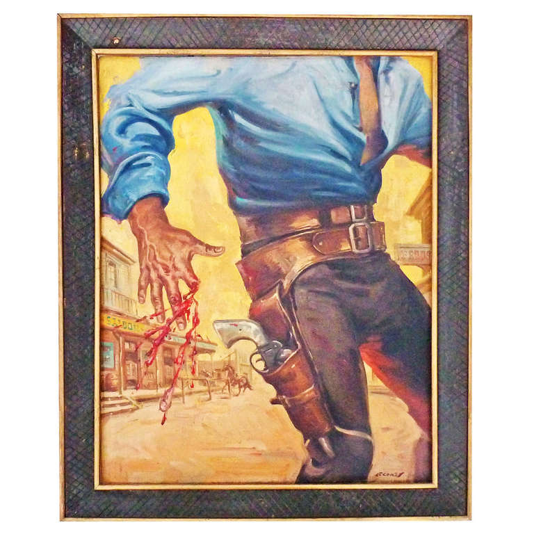 40 Best French Country Furniture Images On Pinterest: Pancho Flores, Original Painting From Movie Poster...El 4