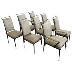 Set of eight chairs by Arturo Pani