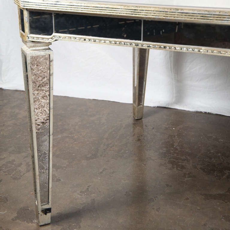 a mirrored dining room table at 1stdibs