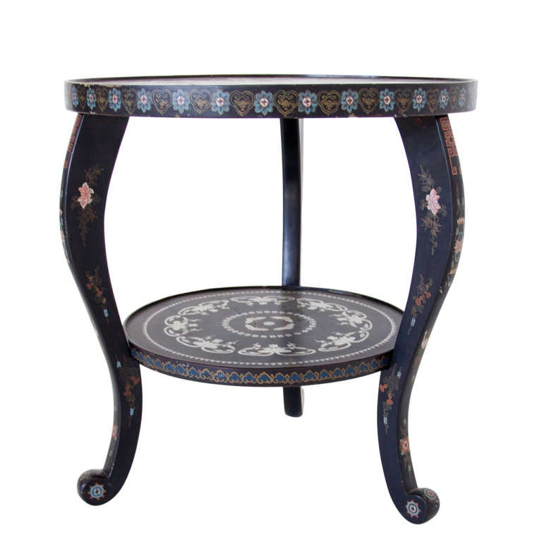 19th Century Chinoiserie Side Table image 2
