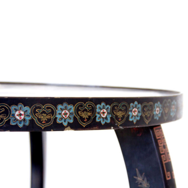 19th Century Chinoiserie Side Table image 3