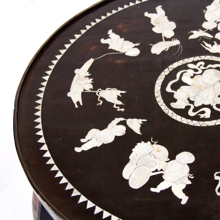 19th Century Chinoiserie Side Table image 5