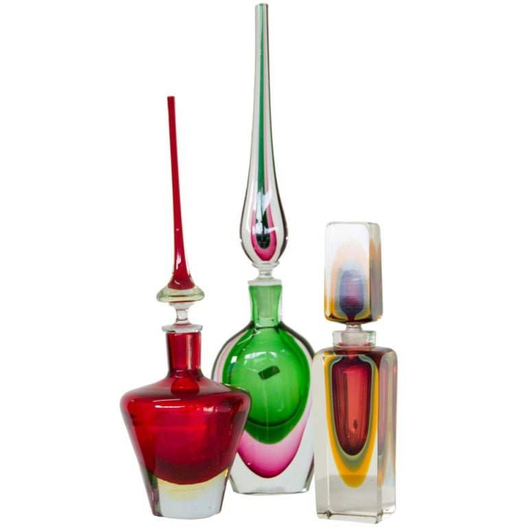 Murano Glass Decanters