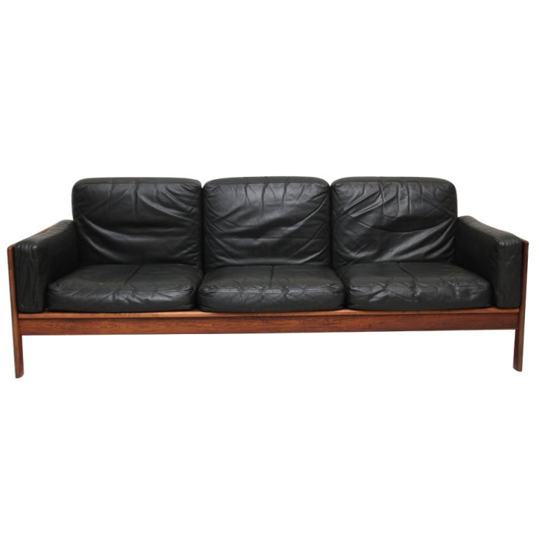 komfort mobler sofa at 1stdibs. Black Bedroom Furniture Sets. Home Design Ideas