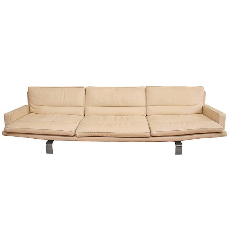 Saporiti Italia White Leather Sofa | 768 x 768 · 135 kB · jpeg