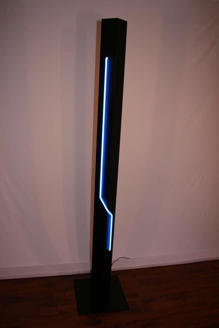 Rudi Stern Neon Floor Lamp For George Kovacs At 1stdibs