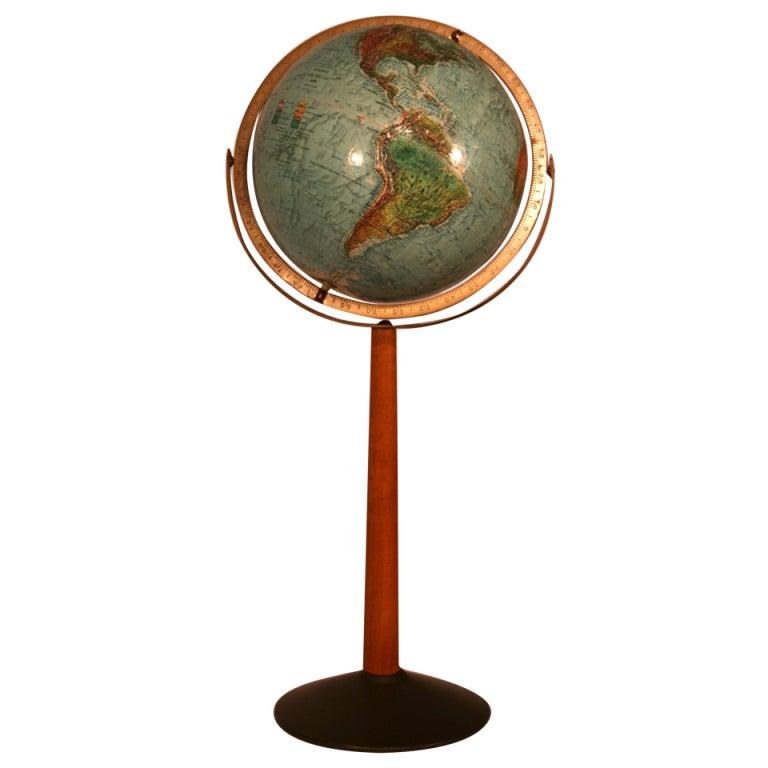 how to make a globe stand