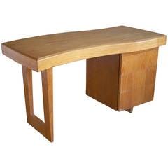 Paul Laszlo for Brown-Saltman Silver Elm Writing Desk